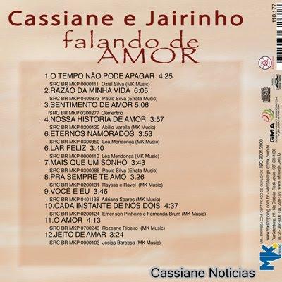 cd cassiane e jairinho falando de amor 2010